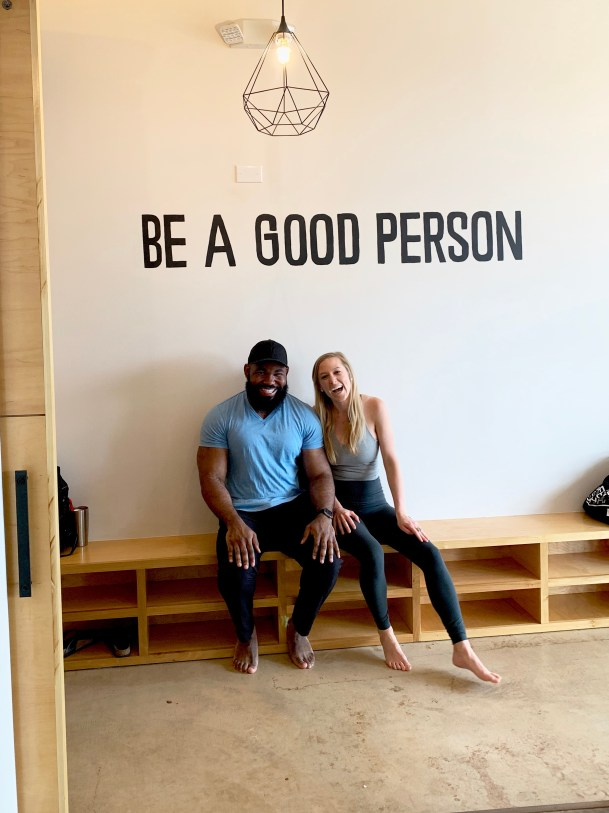 BE Yoga Houston Heights Fitness Ambassador