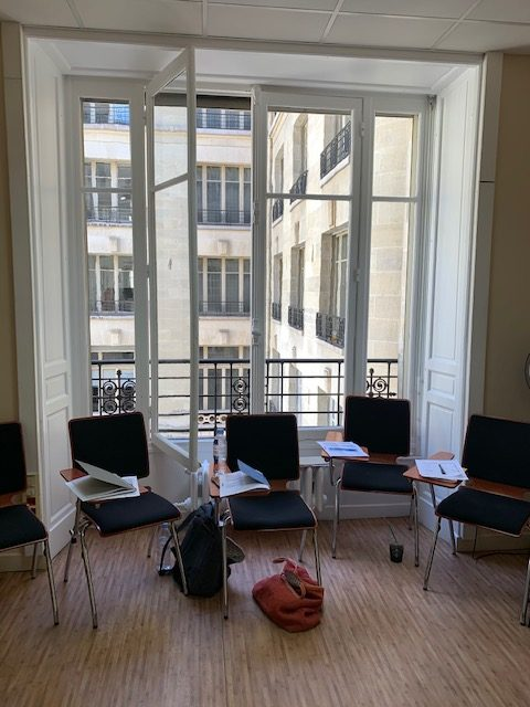 paris accord school classroom