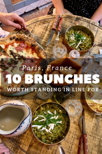 best vegetarain paris brunches