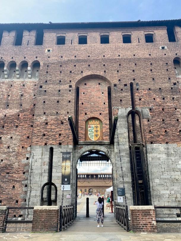 sforeza castle milan