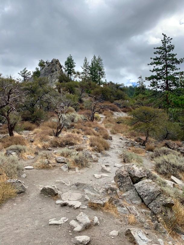 cave rock hike tahoe