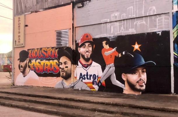 astros mural