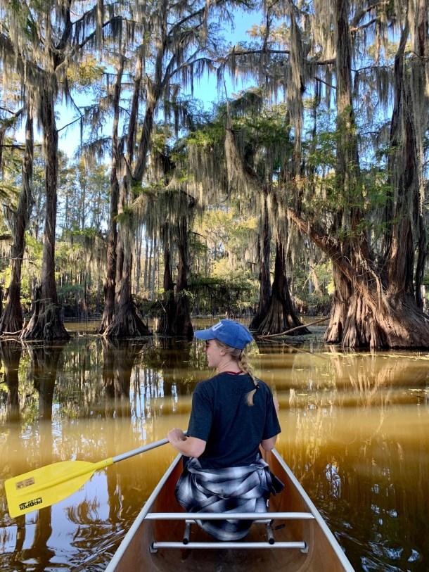 caddo lake canoe trails