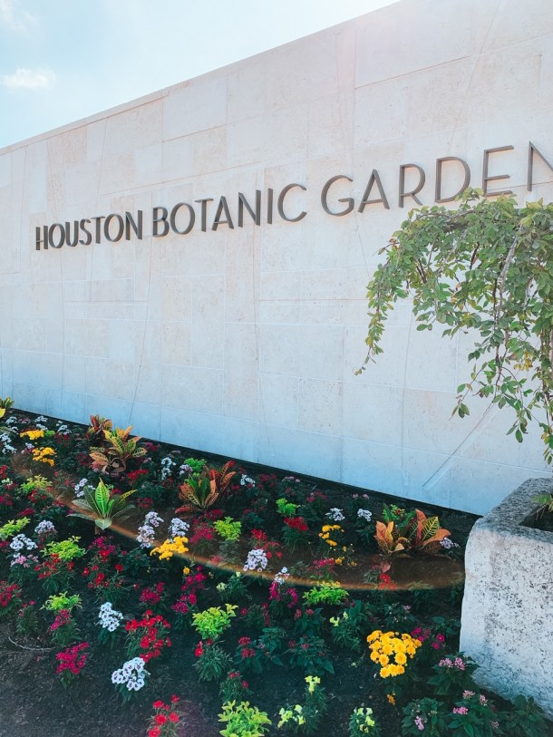 houston botanic garden