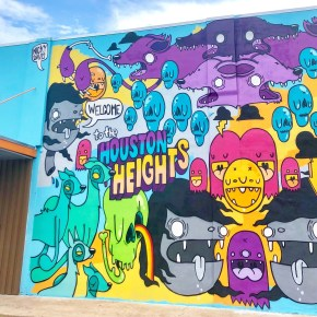 10 Must-See Murals in the Houston Heights