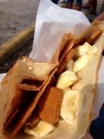 Banana + Nutella +Biscoff Cookies