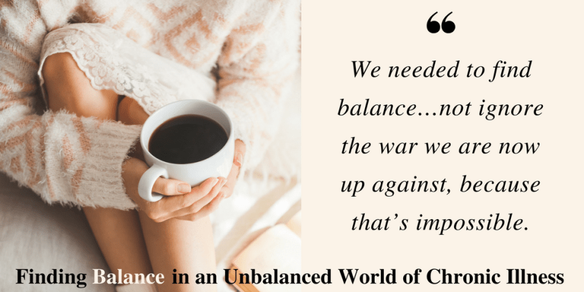 Finding Balance Chronic Illness