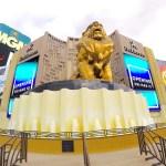 【ラスベガス一人旅】MGMグランドホテル宿泊レポ!カジノにクラブに、部屋も広いし最高のホテルだった