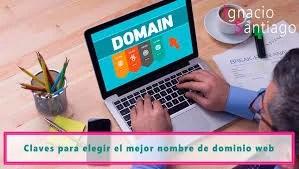 Nombre dominio web
