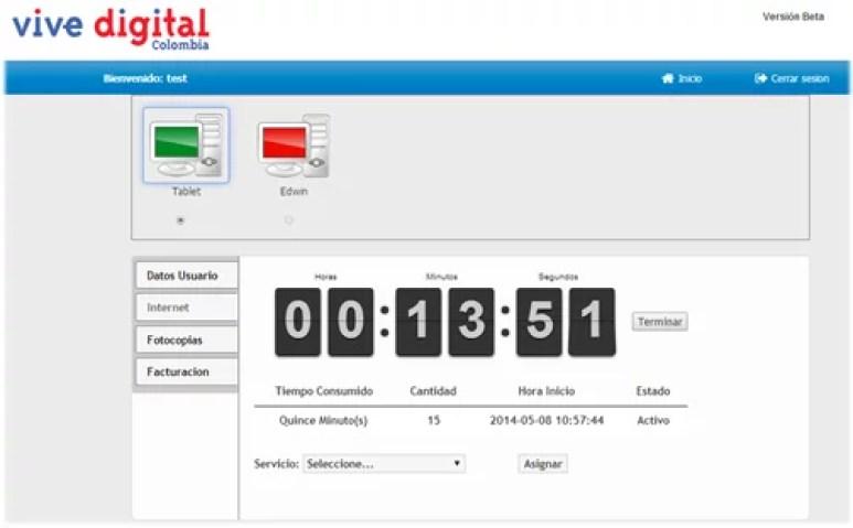 KVD tarificador y control local