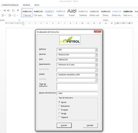 Plantillas Automatizadas en Word o Excel ITSoftware desarrollo de software