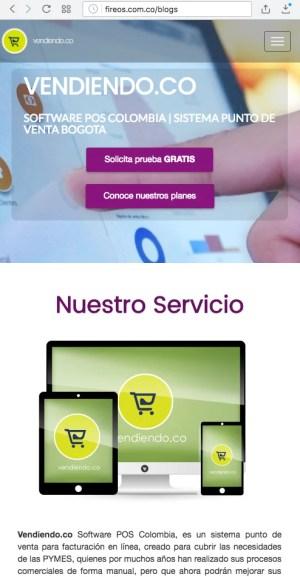 Páginas web responsive