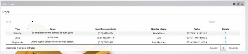 Peticiones, Quejas y Reclamos Vendiendo.co