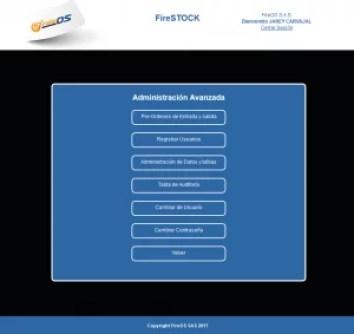 Sistema de Inventarios FireSTOCK