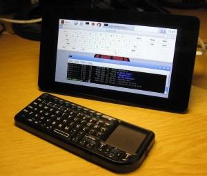 Pantalla y teclado con Raspberry Pi