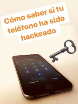 Saber si tu teléfono celular ha sido Hackeado