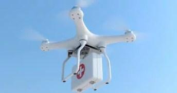 Drones para emergencias medicas