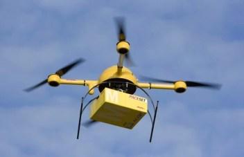 Drones para entrega de paquetes