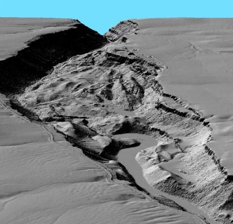 Lidar en la geología
