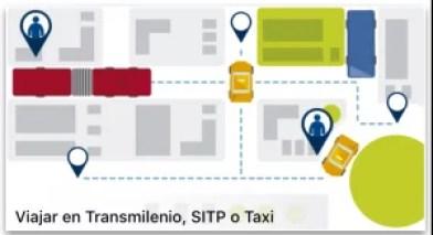 Planear viaje en Transmilenio y Sitp