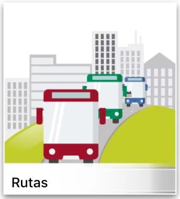 Información de rutas transmilenio sitp