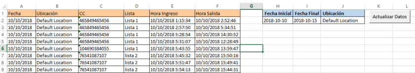 Consumir webservices en Excel post Consumo Final