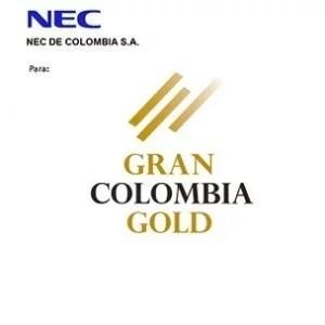 Gran Colombia Gold para NDC