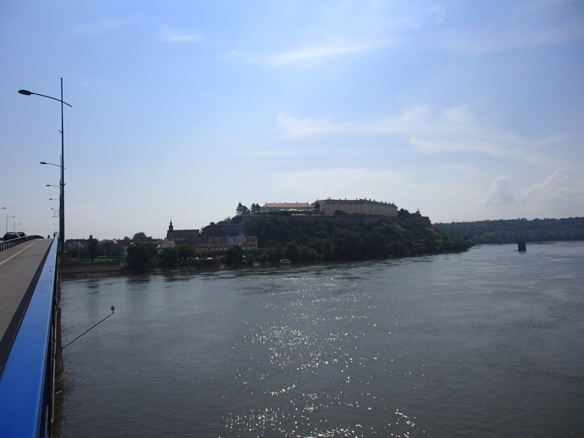 Petrovaradin Fortress(ペトロヴァラディン要塞)の入り方