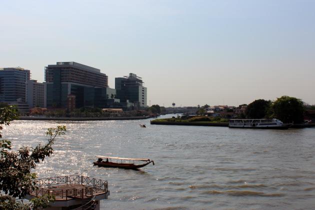 Храмы Бангкок Чао Прая