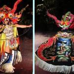 La Diablada дьявольский фестиваль на озере Титикака, Перу