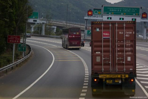 The boundary of Shenzhen and Hong Kong. Путь в Гонконг