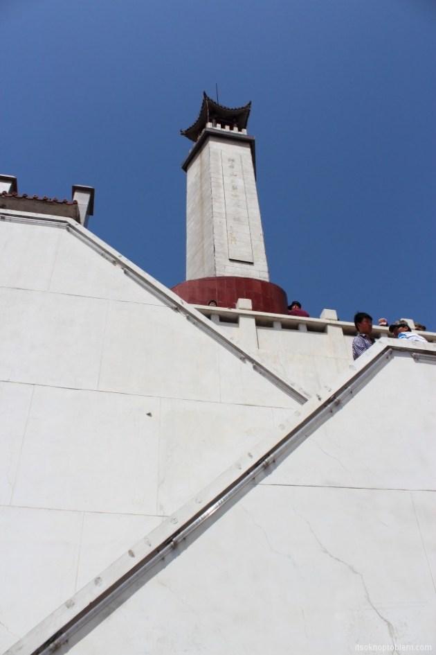 Пять героев гора Ланья. Смотровая башня