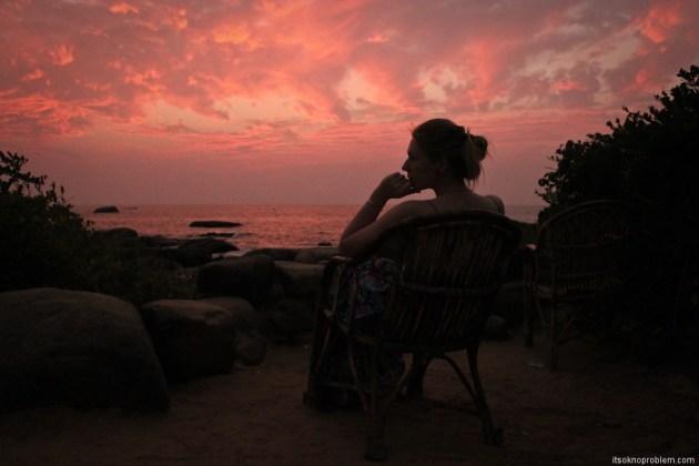 Закаты на Палолеме. Гоа