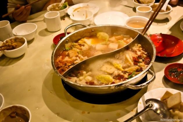 8 在中国尝试的菜肴. 火锅