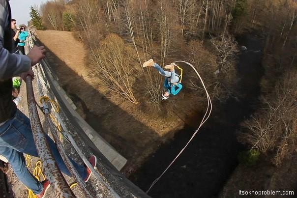 Change your life in one jump. Roupdzhamping in Kaliningrad
