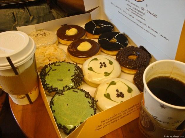 Tasty Week. Indonesia. donuts
