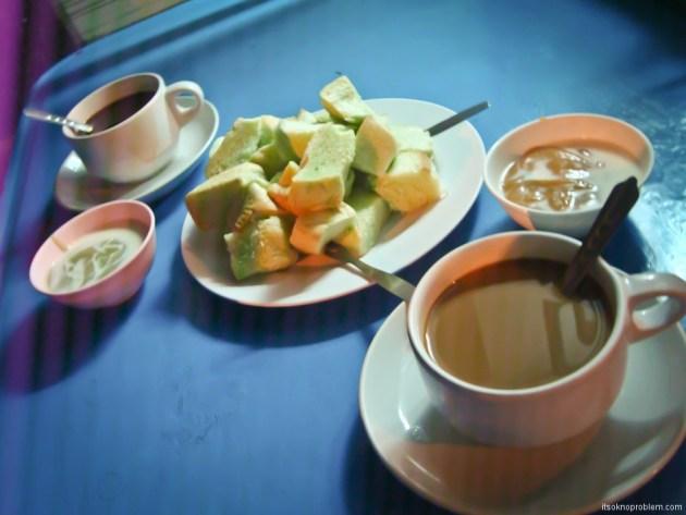 Tasty Week. Thailand. Зеленые булочки с кремом