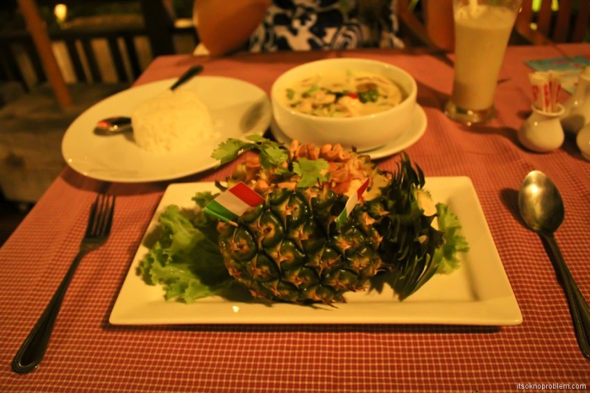 Tasty Week. Thailand. Curry rice in pineapple