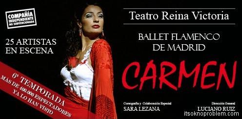 凡观看西班牙弗拉门戈舞. 卡门在马德里分期