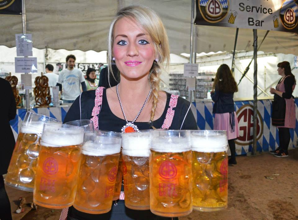 A massive Oktoberfest is coming to Cardiff in the summer!