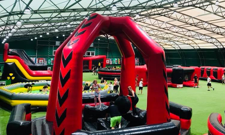 A total wipeout course for kids is coming to Cardiff
