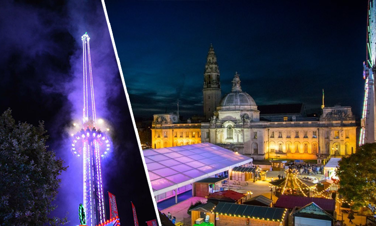 Cardiff's Winter Wonderland has a date and a huge new attraction