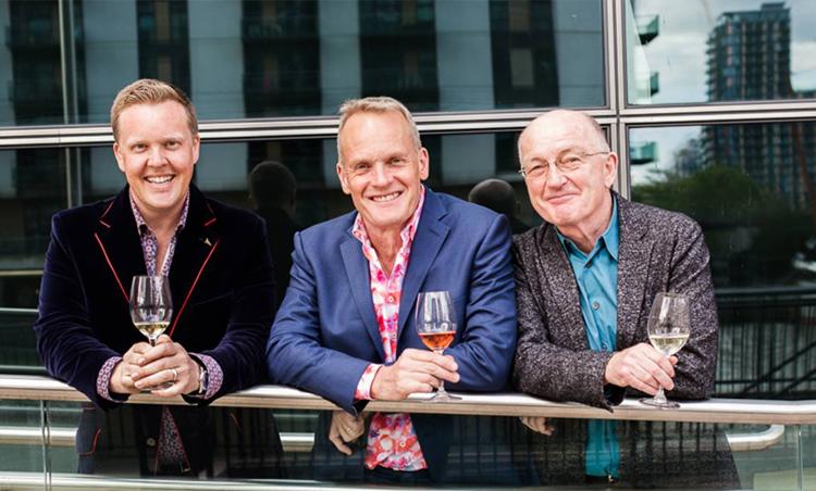Three Wine Men UK tour will be coming to Cardiff