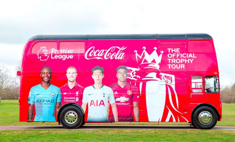 Premier League Trophy is coming to Cardiff