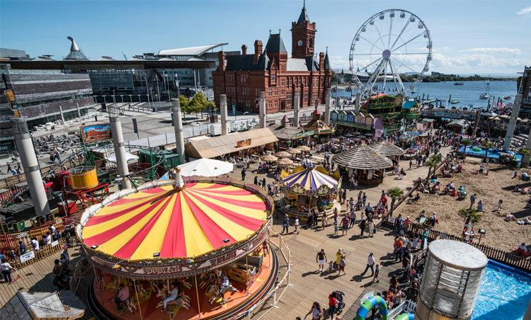 The Beach Is Back And At It's Original Location In Roald Dahl's Plass
