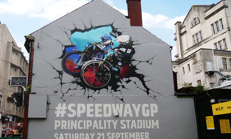 City gears up for Speedway event