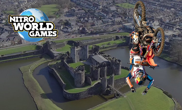 Nitro Circus attempt world first FMX triple double ...