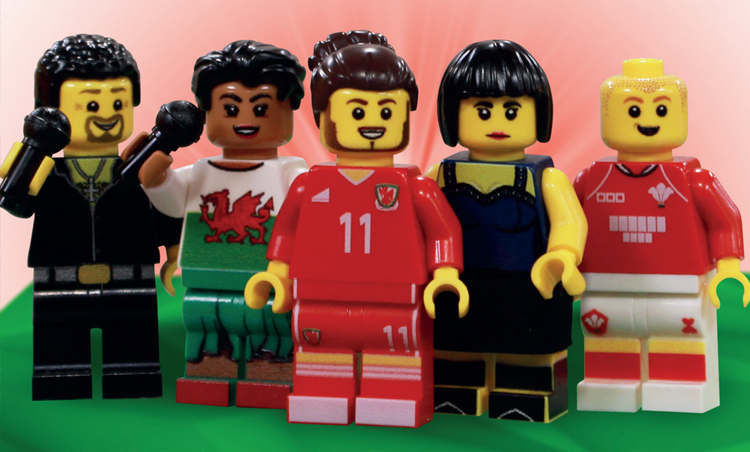 Get 5 Mini Welsh Lego Legends Exclusively On St David's Day In Cardiff