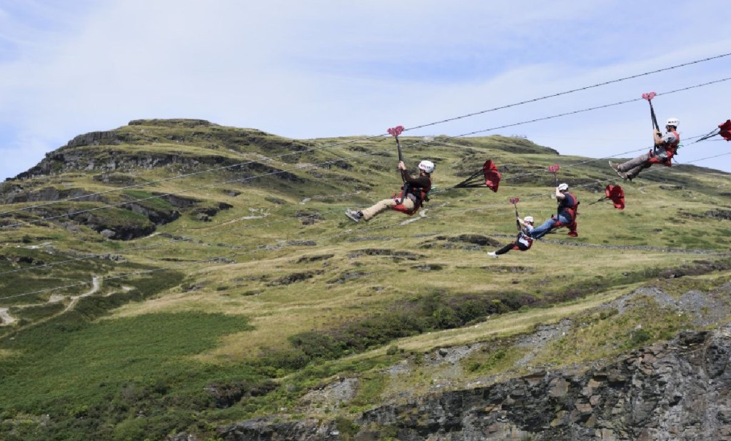 Zipwire planned for South Wales Will Open Spring 2021.