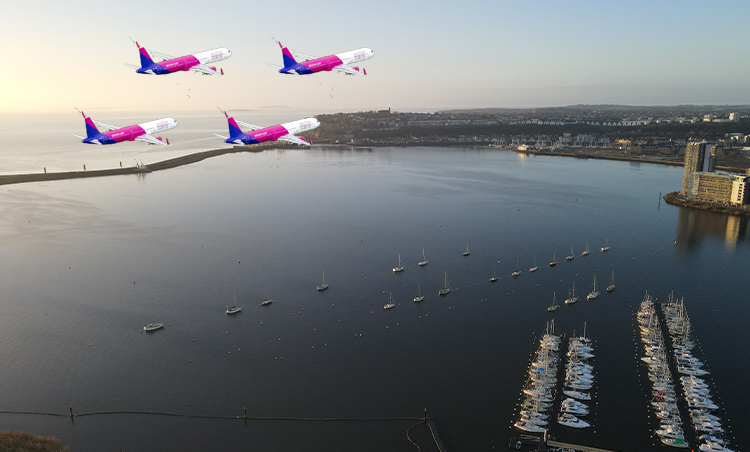 WIZZ AIR UK REVEALS FOUR-AIRCRAFT FLYPAST PLANS IN WALES